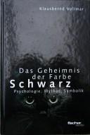 Buchcover Schwarz